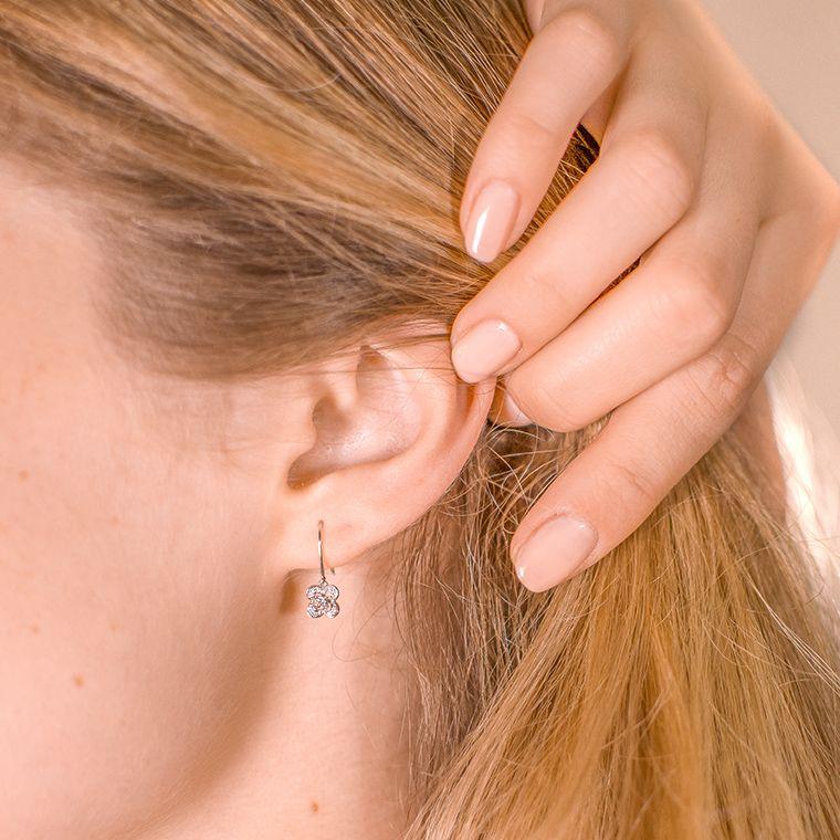 Boucles d'oreilles Chance Super One