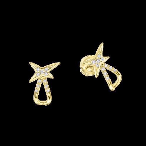 Boucles d'oreilles À la Croisée des Étoiles