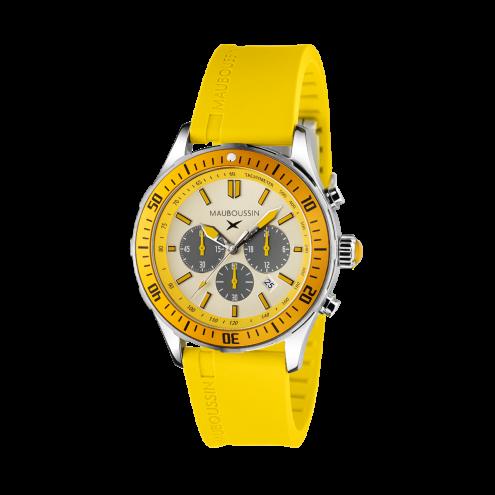 Montre Bande d'Arrêt d'Urgence jaune