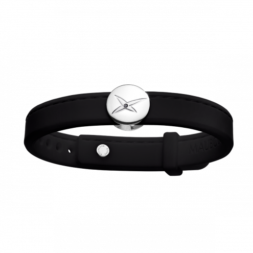 Bracelet Leonard and Suzan of the Valley, noir, homme
