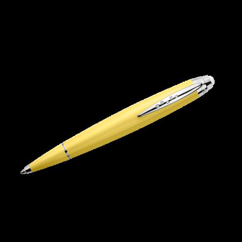 Stylo bille Je rêve donc j'écris jaune