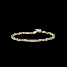 Bracelet Tu es ma Rivière d'Amour 1 carat