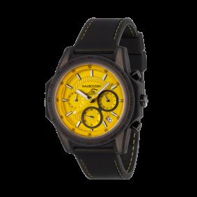 Montre THE SWIMMER silicone jaune